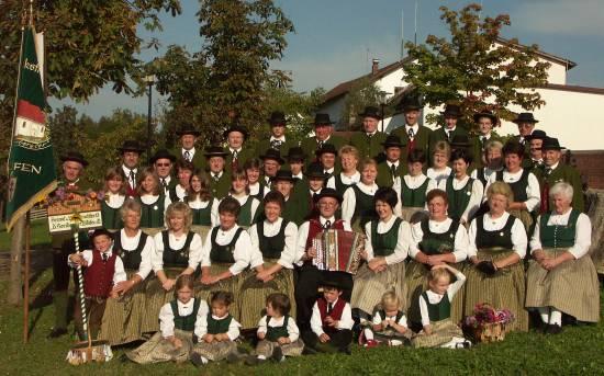 Die Horibergler kurz  vor dem  60 jährigen Gründungsjubiläum 2006