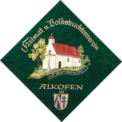 Fahne des Trachtenvereins Alkofen